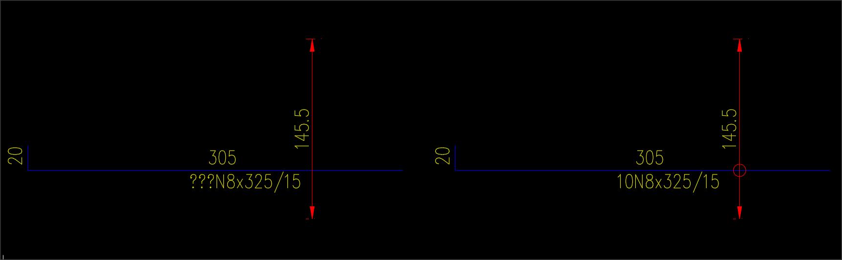 Надписване на армировка с Arml от mCAD4